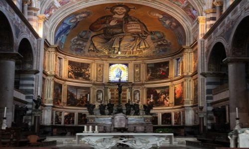 Zdjęcie WłOCHY / Toskania / Piza / Katedra Santa Maria Assunta - wnętrze