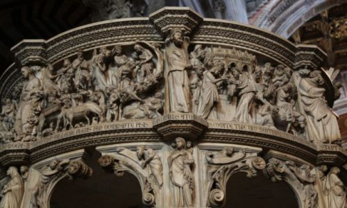 Zdjęcie WłOCHY / Toskania / Piza / Katedra Santa Maria Assunta - detale wnętrza