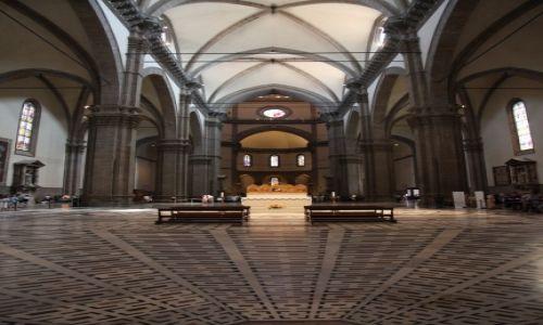 Zdjecie WłOCHY / Toskania / Florencja / Katedra Santa Maria del Fiore, wnętrze