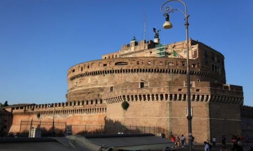 Zdjęcie WłOCHY / Lacium / Rzym / Zamek Świętego Anioła
