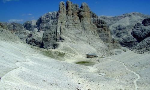 Zdjecie WłOCHY / Dolomity  / Schronisko Re Alberto / Torri del Vajolet