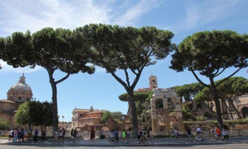 Zdjęcie WłOCHY / Rzym / Monti / Forum Romanum