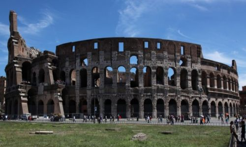 Zdjęcie WłOCHY / Rzym / Monti / Koloseum