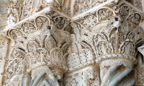 Zdjecie WłOCHY / Sycylia / Palermo / Palermo, fragment portalu Katedry