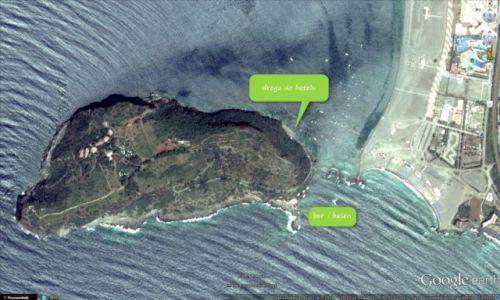 WłOCHY /  Praia a Mare /  Praia a Mare / Miejsca lądowania na wyspie w Praia a Mare
