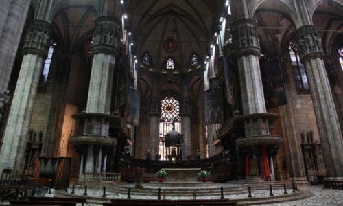 Zdjecie WłOCHY / Lombardia / Mediolan / Katedra Narodzin Św. Marii