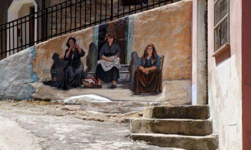 Zdjecie WłOCHY / Sardynia / Orgosolo / Murale
