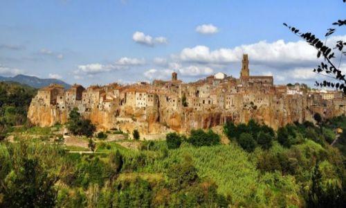 Zdjęcie WłOCHY / Toskania / Pitigliano / Miasto tofu