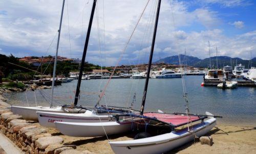 Zdj�cie W�OCHY / Sardynia / Porto Rotondo / W porcie