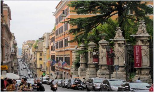 Zdjęcie WłOCHY / Lazio / Rzym / Via delle Quattro Fontane...