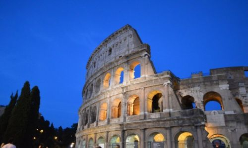 Zdjecie WłOCHY / Lacjum / Rzym / Koloseum