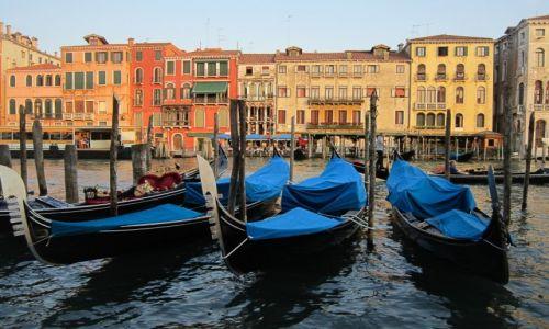 Zdjęcie WłOCHY / Wenecja / Wenecja / O zachodzie