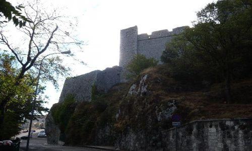 Zdjecie WłOCHY / brak / Monte San Angelo / ruiny zamku