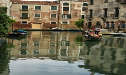 Zdjęcie WłOCHY / Wenecja / Wenecja / Gondola