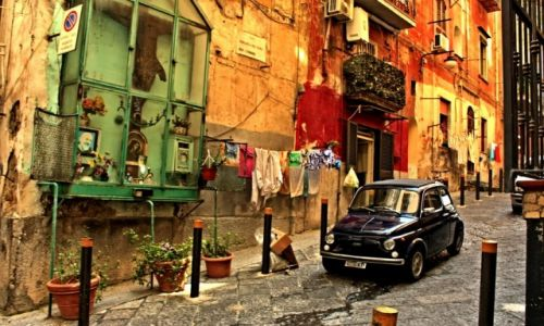 Zdjęcie WłOCHY / Kampania / Neapol / FIAT