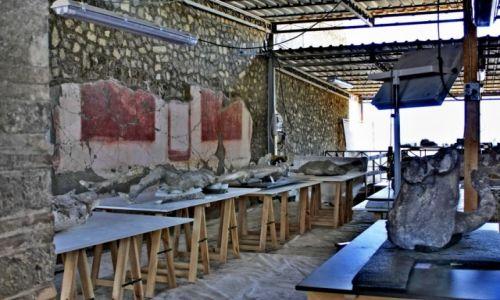 Zdjęcie WłOCHY / Kampania / Pompeje / 24.08.0079 wybuch Wezuwiusza