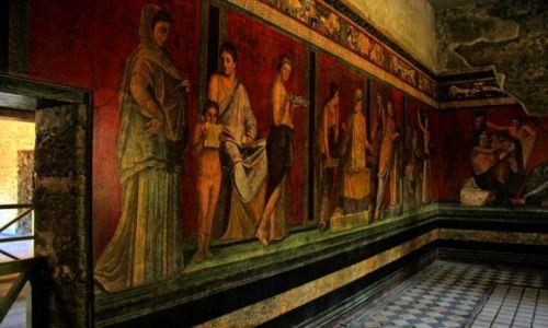 Zdjęcie WłOCHY / Kampania / Pompeje / Dom z misteriami