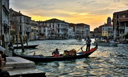 Zdjęcie WłOCHY / Wenecja Euganejska / Wenecja / ostatnie promienie dnia