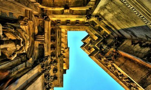 Zdjęcie WłOCHY / Wenecja Euganejska / Wenecja / kościelne gzymsy