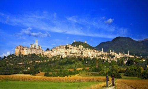 Zdjęcie WłOCHY / Umbria / Asyż / Opuszczając Asyż