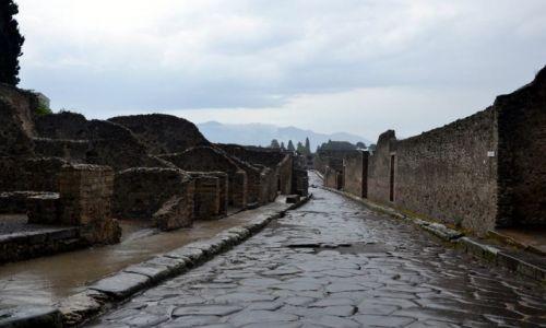 Zdjęcie WłOCHY / Kampania / Pompeje / wymarłe miasto
