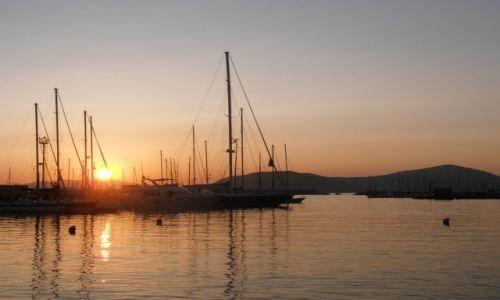 Zdj�cie W�OCHY / Sardynia / Alghero / Zach�d s�o�ca
