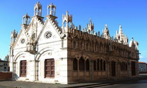 Zdjęcie WłOCHY / Toskania / Piza / Kościół Santa Maria della Spina