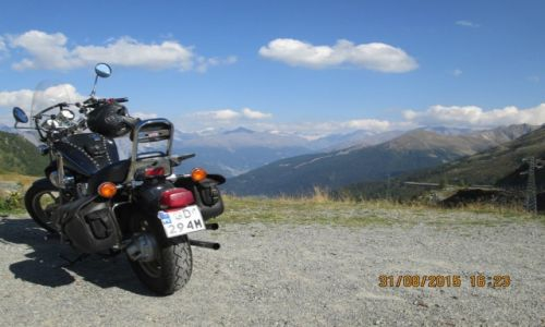 Zdjecie WłOCHY / Passo del Foscagno / SS301 / Highway to heaven