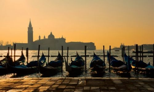 Zdjęcie WłOCHY / Włochy / Wenecja / Mglista Wenecja