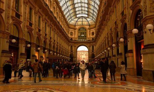 Zdjęcie WłOCHY / Włochy / Mediolan / Galleria Vittorio Emanuele II
