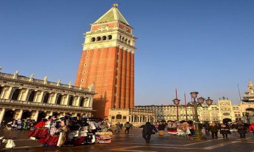 Zdjęcie WłOCHY / - / Wenecja / Dzwonnica św Marka
