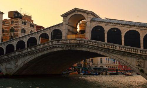 Zdjęcie WłOCHY / - / Wenecja  / Most Rialto
