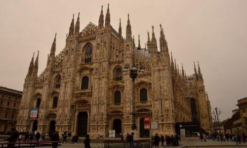 Zdjęcie WłOCHY / - / Mediolan / Duomo