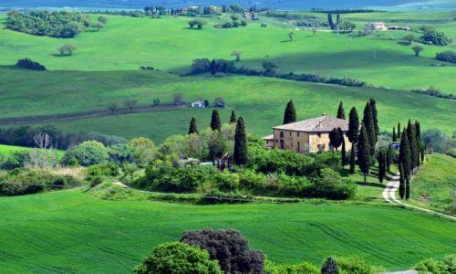 Zdjecie WłOCHY / Toskania / Dolina Val d'Orcia / Idylla