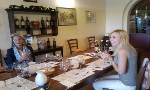 WłOCHY / Toskania / Winnica Biondi Santi / DEGUSTACJA BRUNELLO