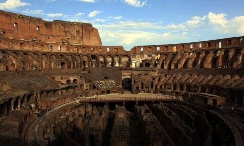Zdjęcie WłOCHY / Lacjum / Rzym / Koloseum