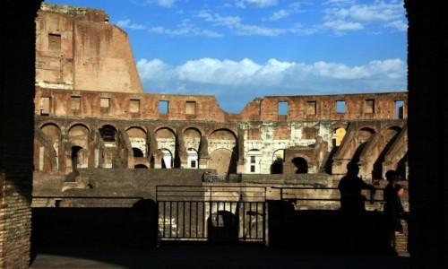 Zdjęcie WłOCHY / Lacjum / Rzym, Koloseum / W teatrze teatrów