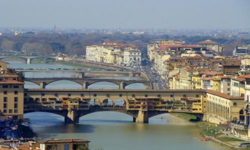 Zdjęcie WłOCHY / Toskania / Florencja / Mosty na Arno