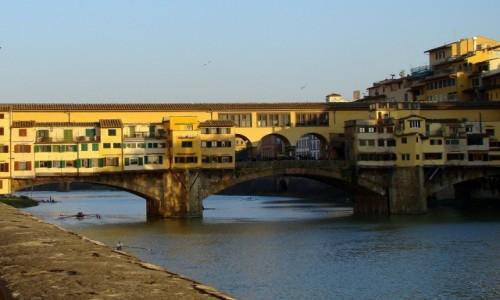 Zdjęcie WłOCHY / Toskania / Florencja / Ponte Vecchio