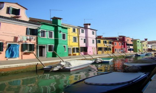 Zdjęcie WłOCHY / Wenecja Euganejska / Burano / Kwadrans drogi od Wenecji