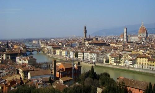 Zdjęcie WłOCHY / Toskania / Florencja / Arno