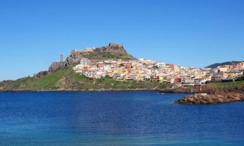 Zdj�cie W�OCHY / Sardynia / Castelsardo / CASTELSARDO - pere�ka Sardynii