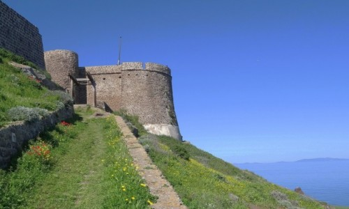Zdj�cie W�OCHY / Sardynia / Castelsardo / CASTELSARDO - pere�ka Sardynii, zamek