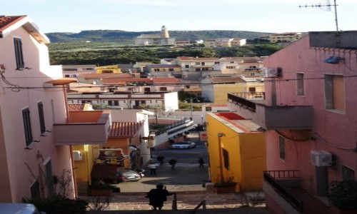 Zdj�cie W�OCHY / Sardynia / Castelsardo / Spacer uliczkami Castelsardo