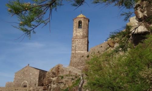 Zdj�cie W�OCHY / Sardynia / Castelsardo / Spacer uliczkami Castelsardo - katedra