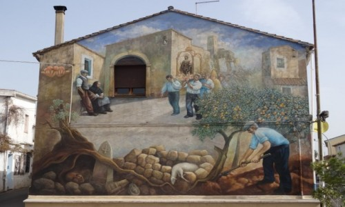 Zdj�cie W�OCHY / Sardynia / San Sperate / San Sperate - z zycia Sard�w