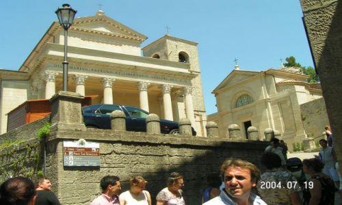 Zdjecie WłOCHY / Marche / katedra / San Marino