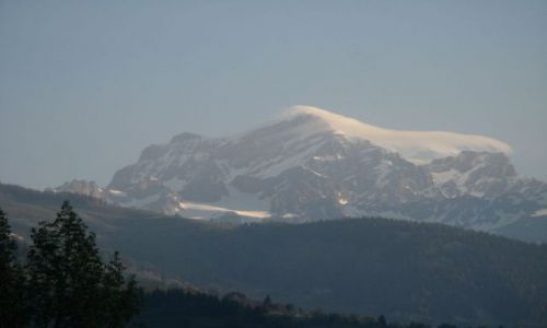 Zdjecie WłOCHY / brak / Dolina Aosty / Jakaś góra na g