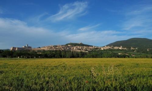 W�OCHY / Umbria / Asy� / Widok na Asy�