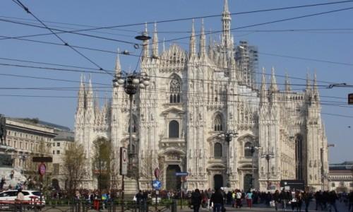 Zdjecie WłOCHY / Lombardia / Mediolan / Katedra